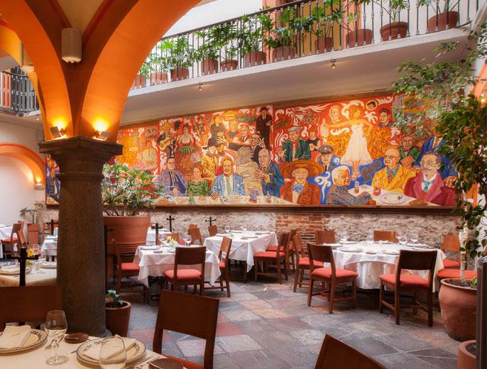 El mural de los poblanos lo mejor de la cocina poblana con for El mural restaurante puebla