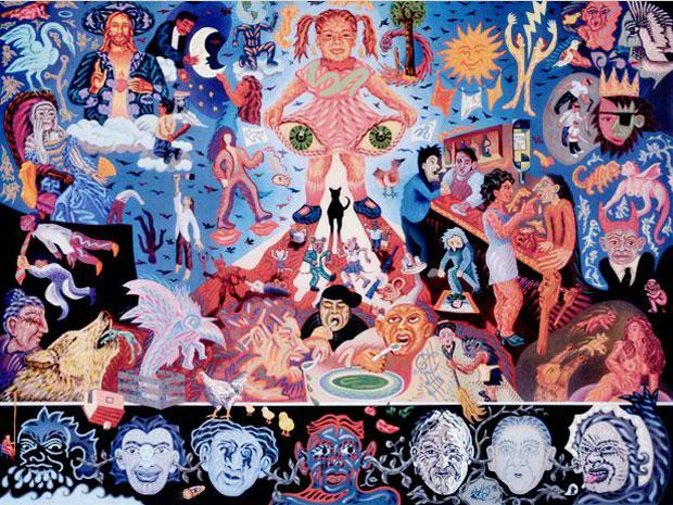 El mural de los poblanos dichos for El mural de los poblanos