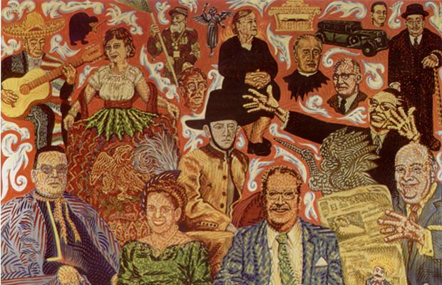 El mural de los pobanos for El mural pelicula